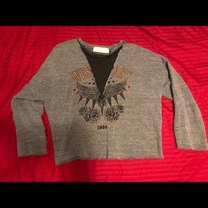 stylish sweatshirt top